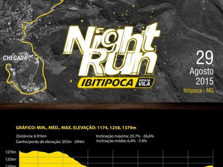 Organização do evento divulga o percurso para a IBTT Night Run 2015