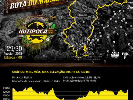 Já estão no ar os mapas com as altimetrias do Ibitipoca Trip Trail 2015