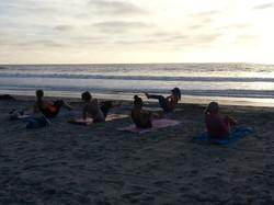 Group Beach Yoga - South Ponto Beach