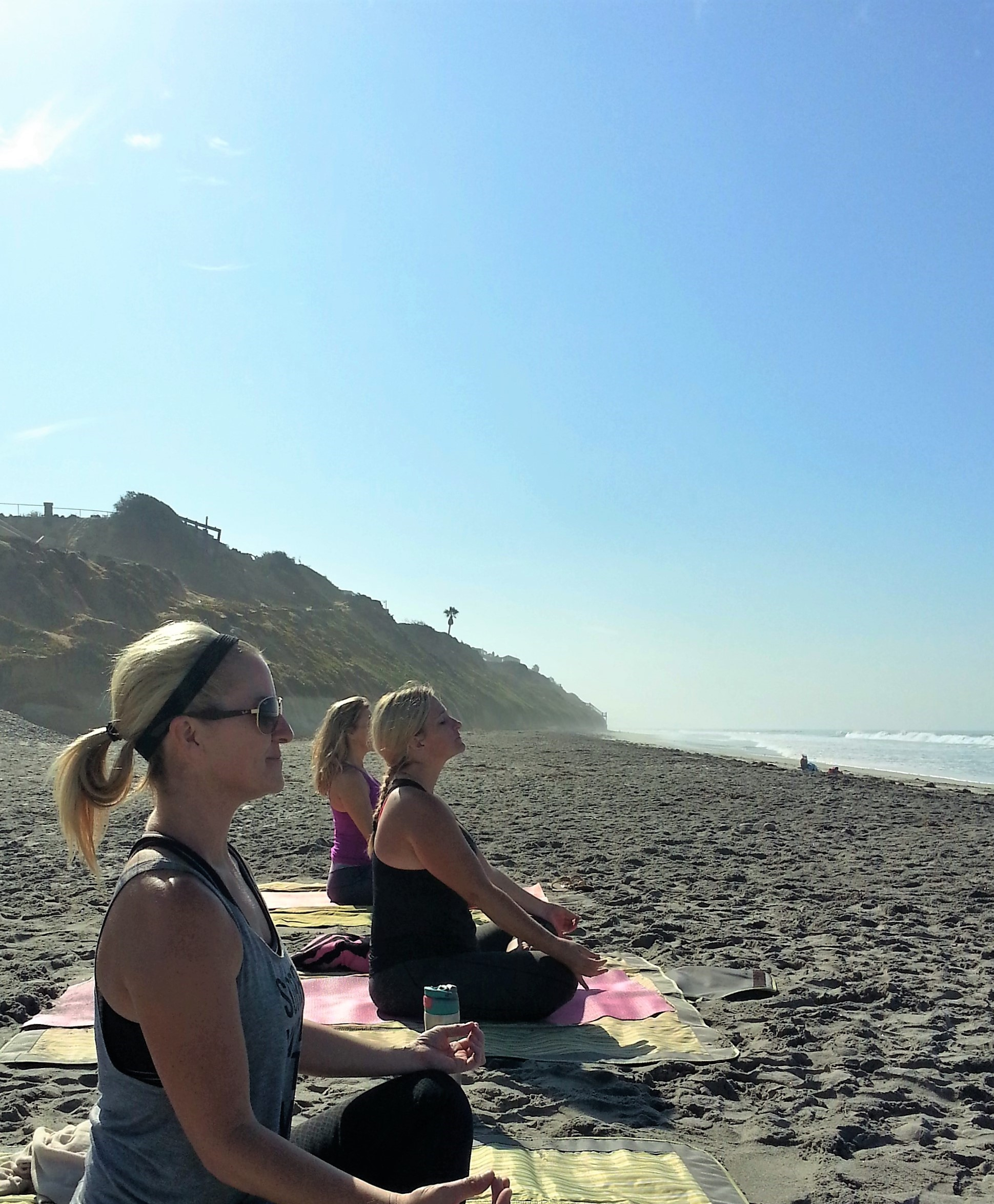 Morning Yoga Class - South Ponto
