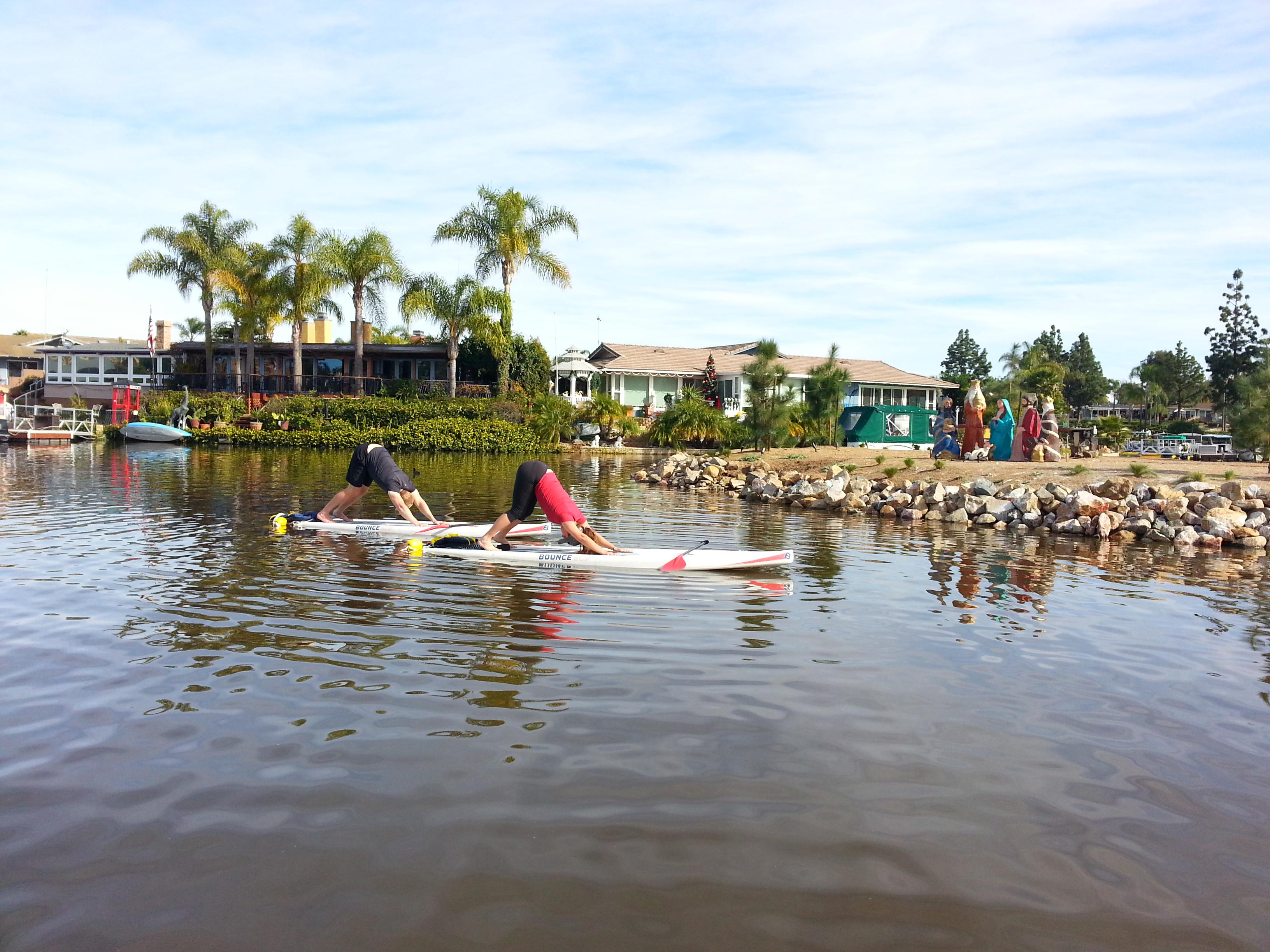 SUP Yoga - Lake San Marcos