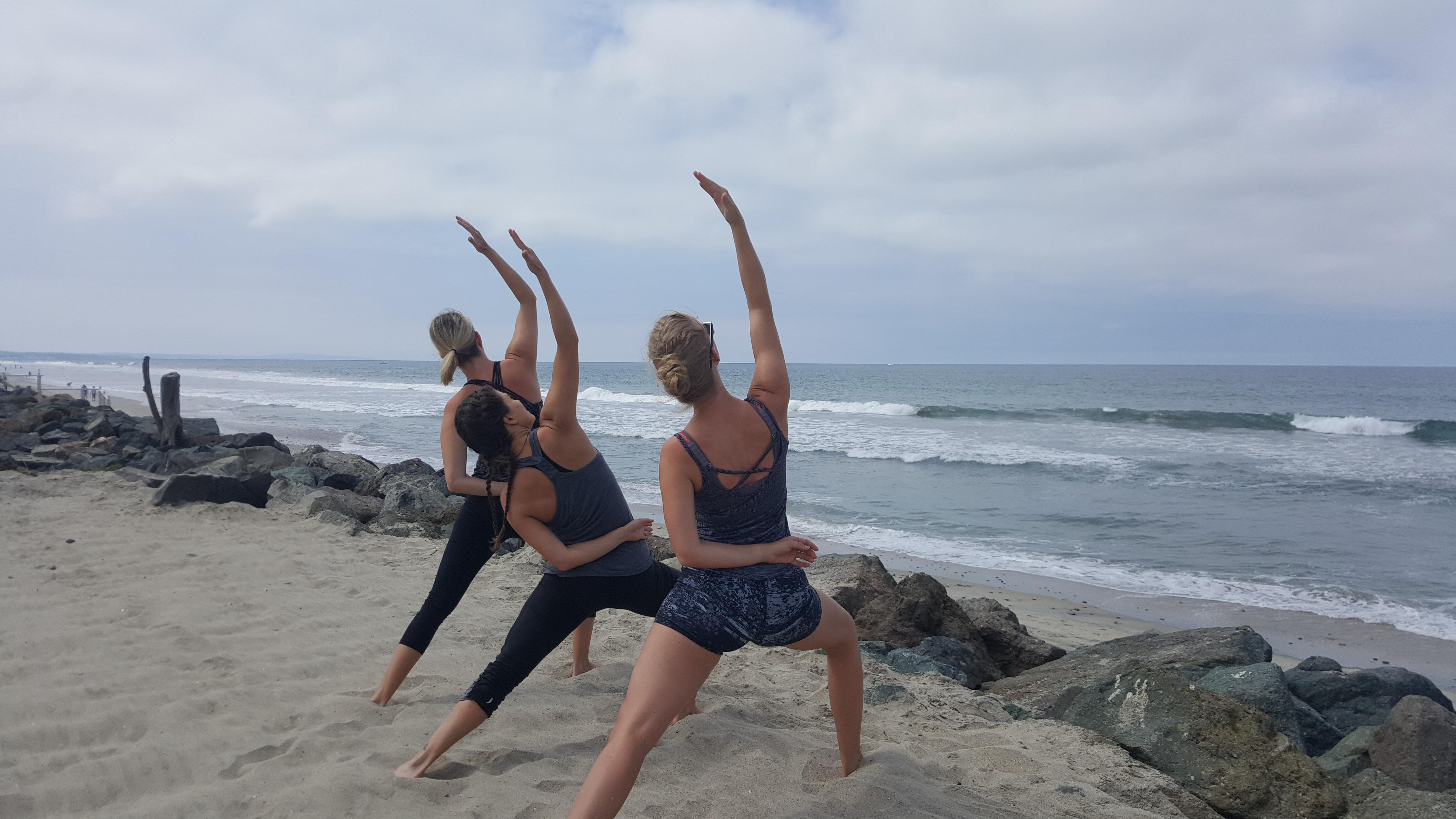 Beach Yoga - Oceanside, CA