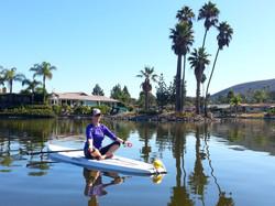 Private SUP Yoga - Lake San Marcos