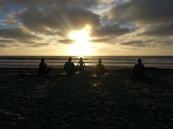 Sunset Beach Yoga - South Ponto