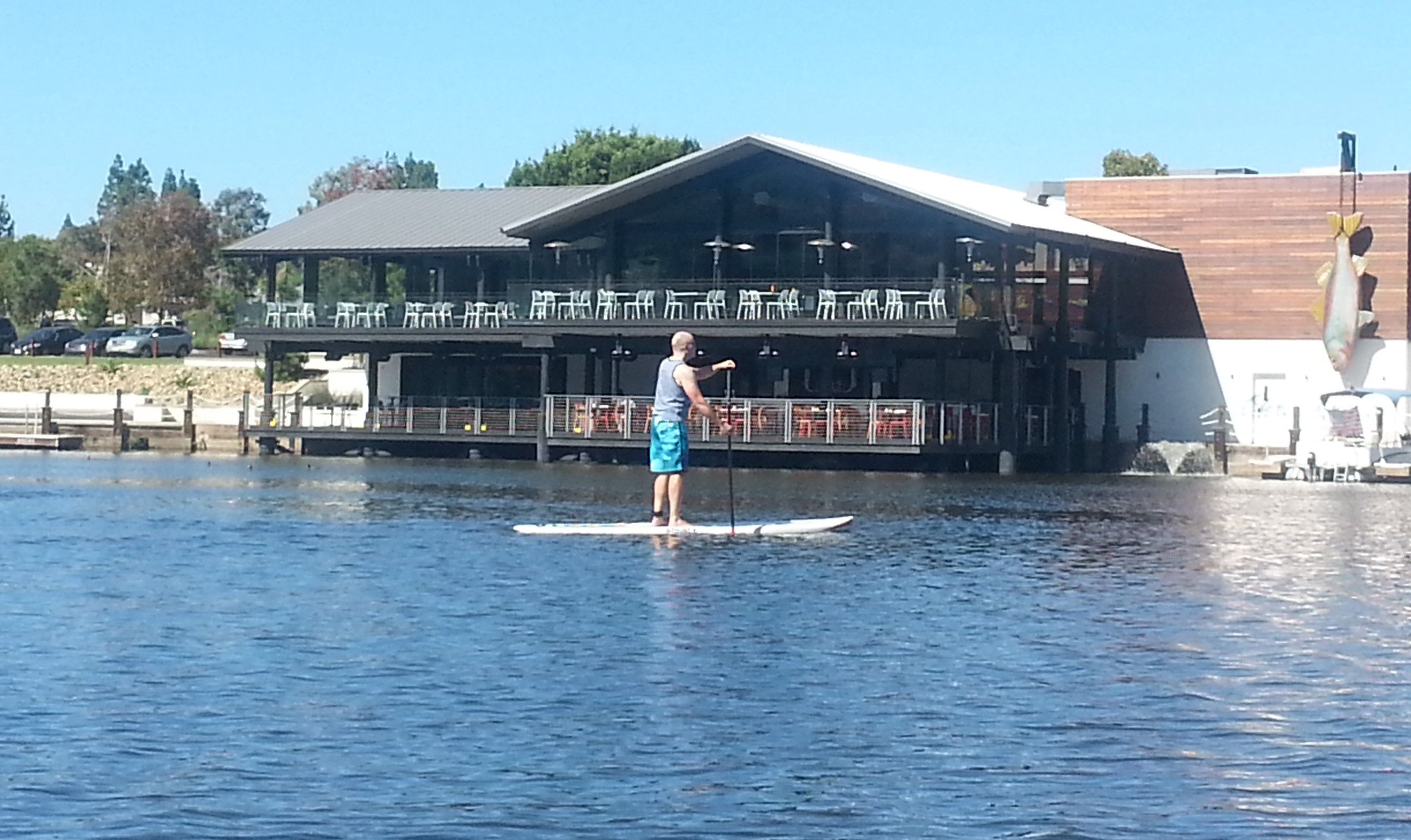 Private SUP Lesson - Lake San Marcos