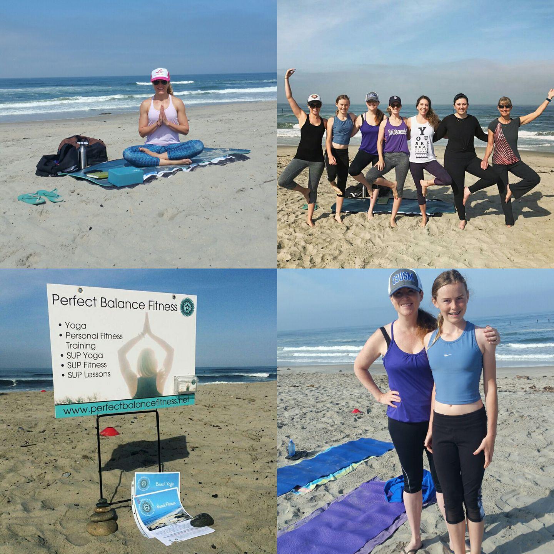 Beach Yoga - South Ponto Beach