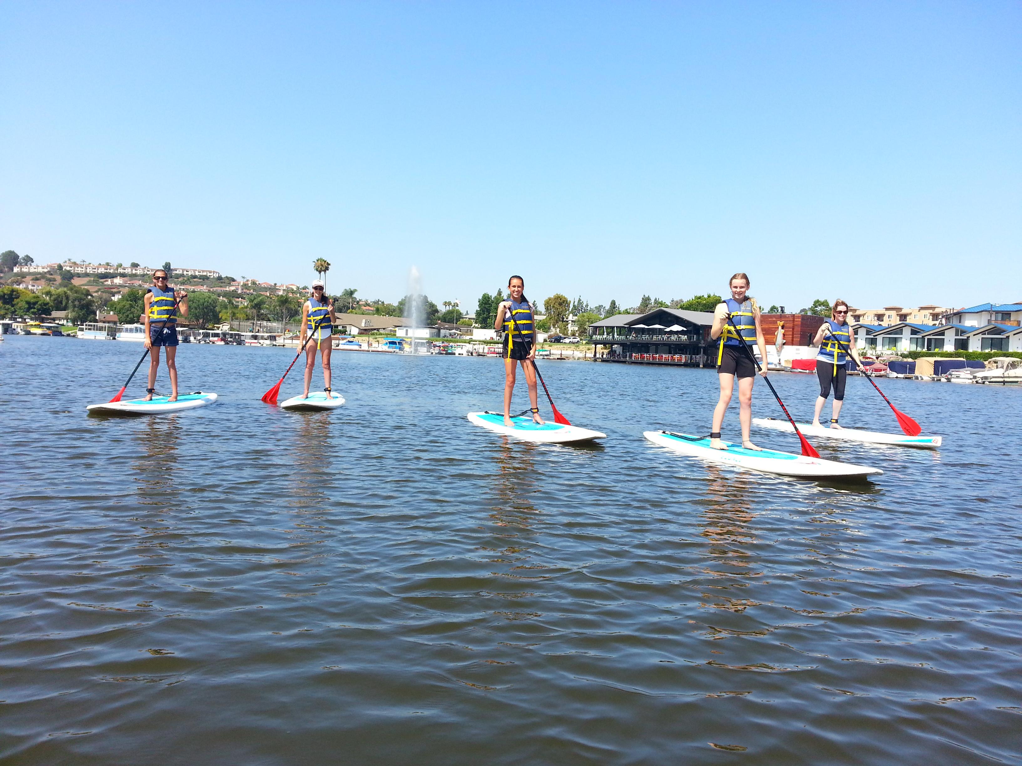 SUP Lesson - Lake San Marcos