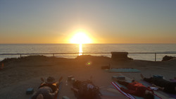 Sunset Yoga at South Ponto Beach