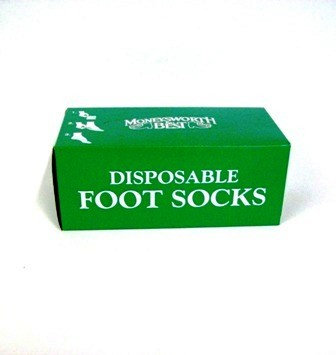 Try On Disposable Socks