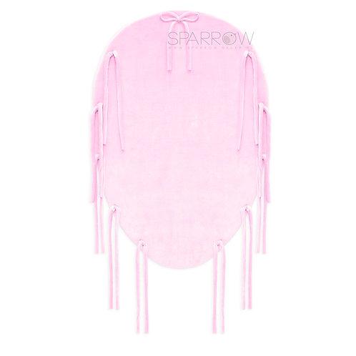Materacyk wymienny do kokonu 2w1 baby pink