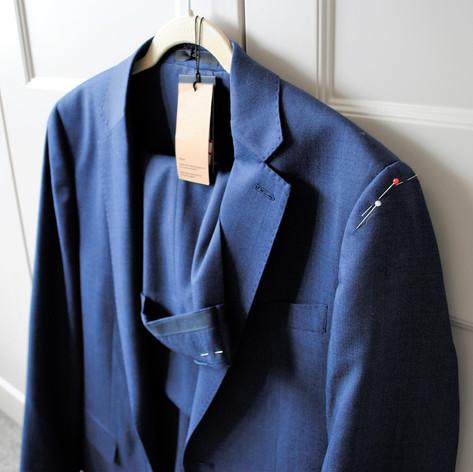 Suit alteration