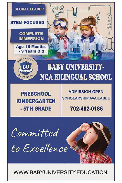 Baby University - NCA