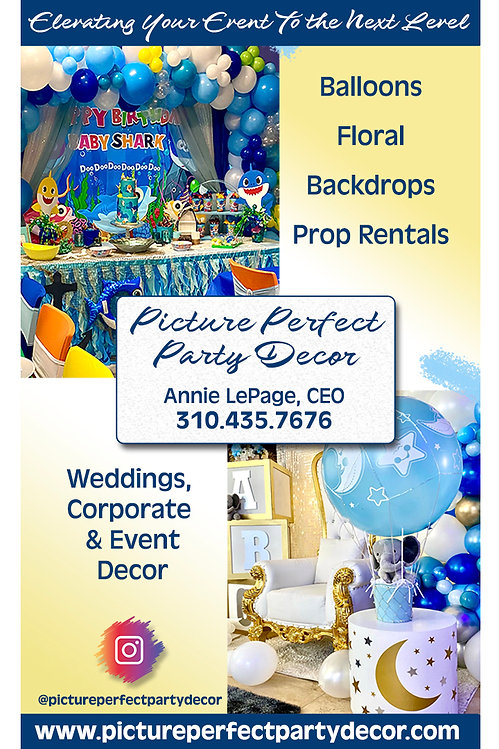 Picture Perfect Party Decor