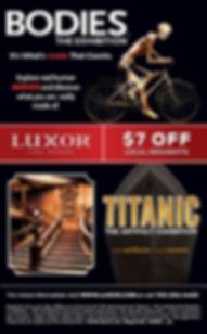 Bodies, Titanic at Luxor Las Vegas