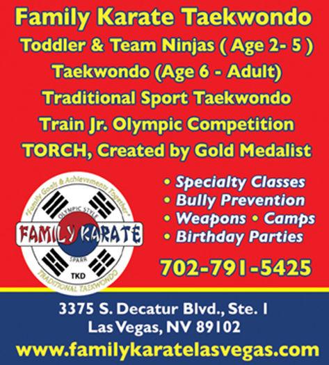 Las Vegas Family Karate