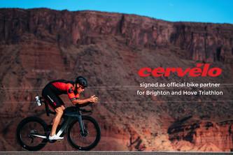 Cervélo signed as 'Official Bike Partner' for Brighton and Hove Triathlon