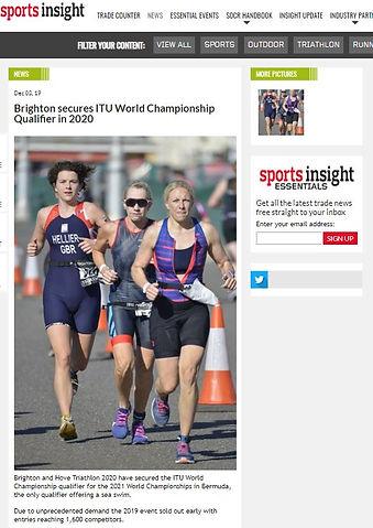 Brighton series ITU World Champs Qual 20