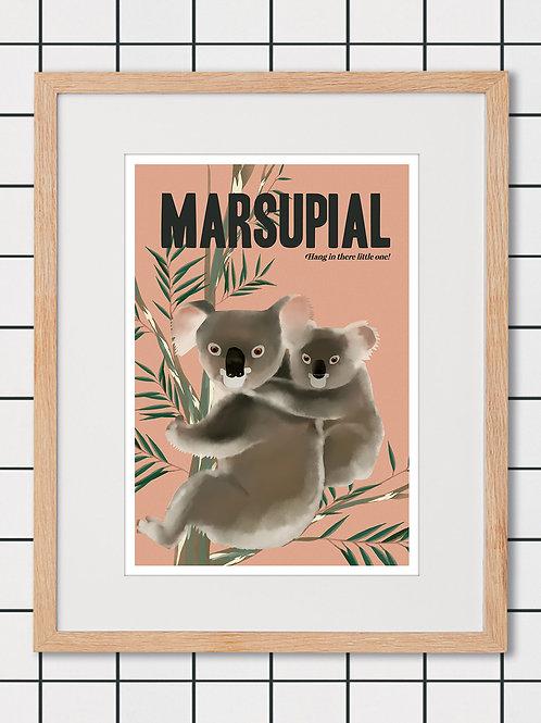 Marsupial Art Print