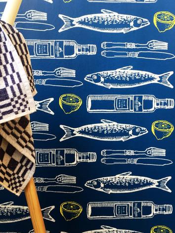Illustratie 'sardinas'