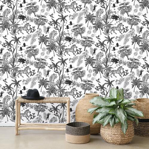 Wallpaper Crazy Jungle