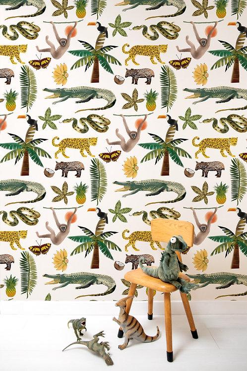Wallpaper Animal Playtime