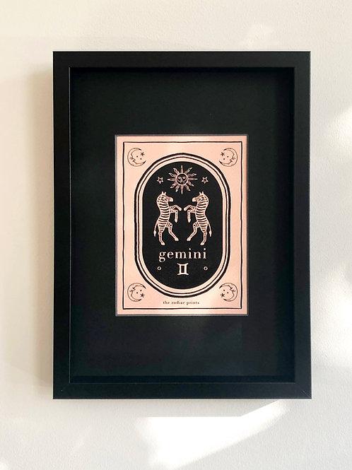 The Zodiac Prints - Art print