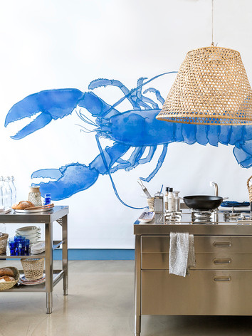 Giant lobster