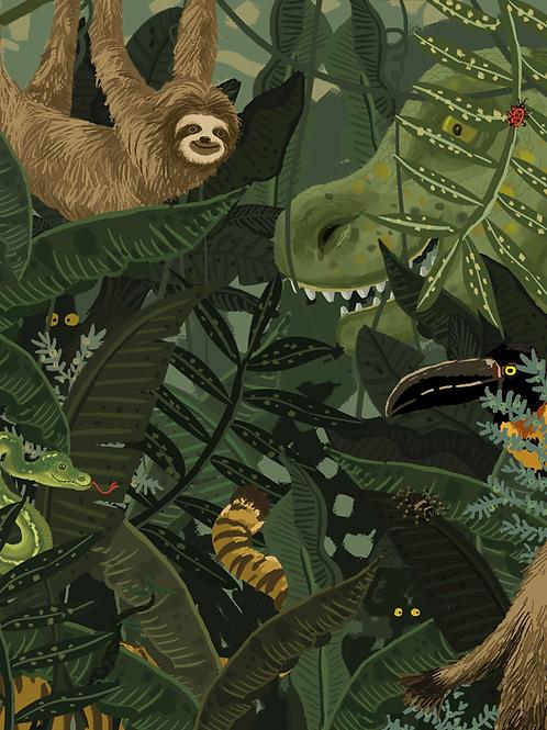Wallposter Jimmi's jungle