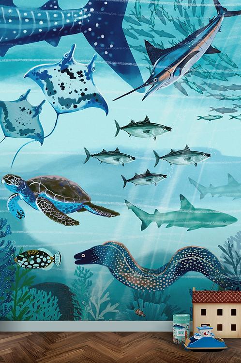 Wallposter Underwater World