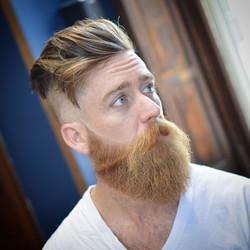 Undercut + Full Beard