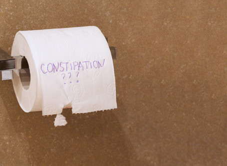 Constipated? Why you close up like a clam shell!!!