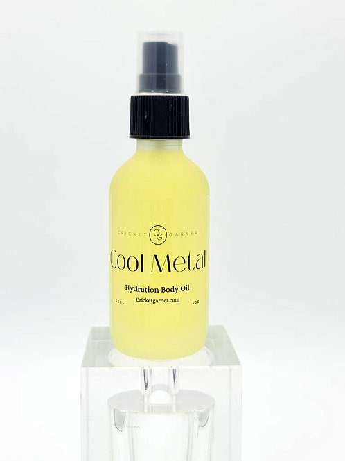 Cool Metal Body Oil