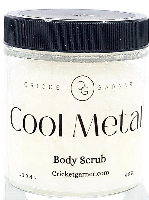 Cool Metal Body Scrub 4oz