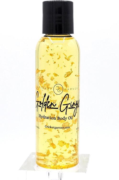 Golden Ginger Body Oil 4oz