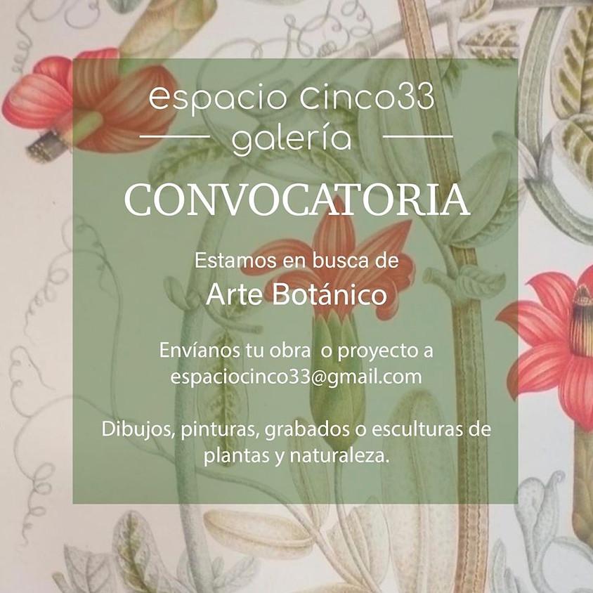 Convocatoria Arte Botánico