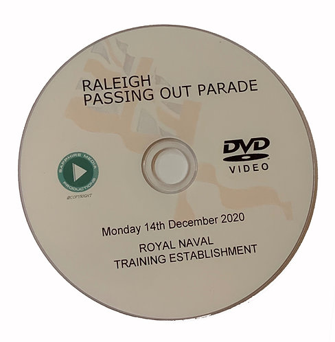 HMS Raleigh DVD