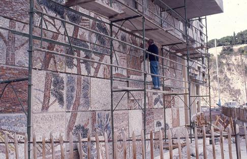 Mosaïque de marbre, 1985