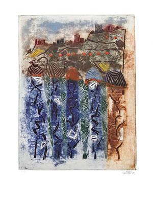 Le causse de Duravel, 1995
