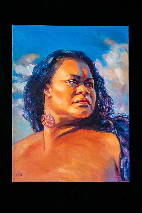 PELE'S DIGNITY BY ARTIST ISA MARIA