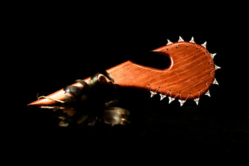 HAWAIIAN PAHOA  SHARK TOOTH WEAPON WITH HOOK