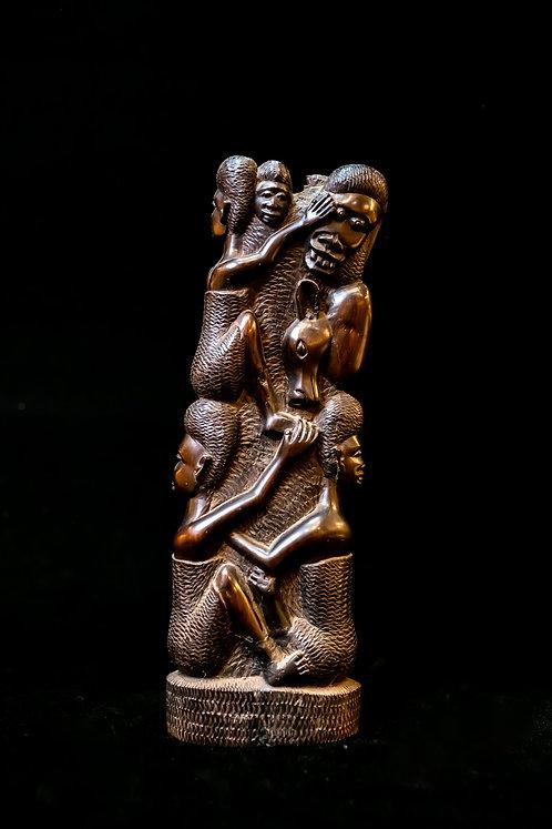 KWANZAA - UJAMAA SCULPTURE - TANZANIA