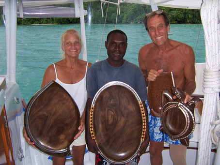 COLLECTING ART IN THE SOLOMON ISLANDS