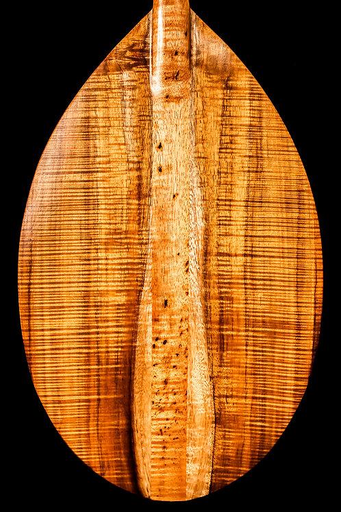 Fantastic Triple A Koa wood Hawaiian Paddle