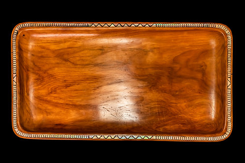 ONE-OF-A-KIND HAND-CARVED TRAY - SOLOMON ISLANDS
