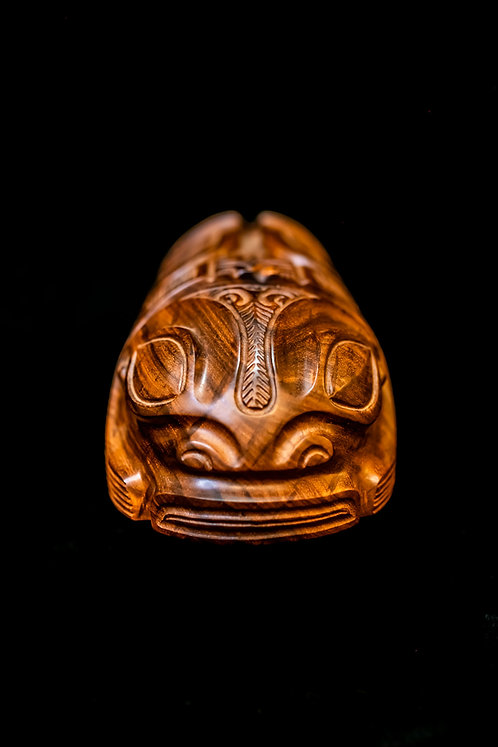 THE FISH GOD OF THE ANCIENT POLYNESIAN PEOPLE