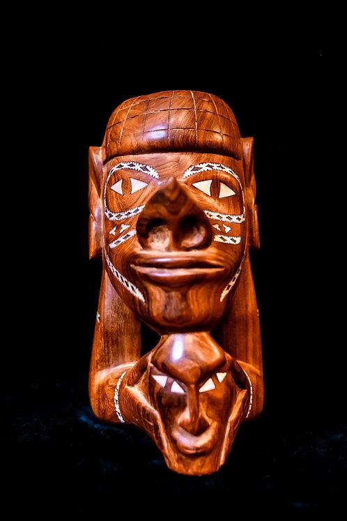 NGUZU NGUZU WAR CANOE FIGUREHEAD - SOLOMON ISLANDS