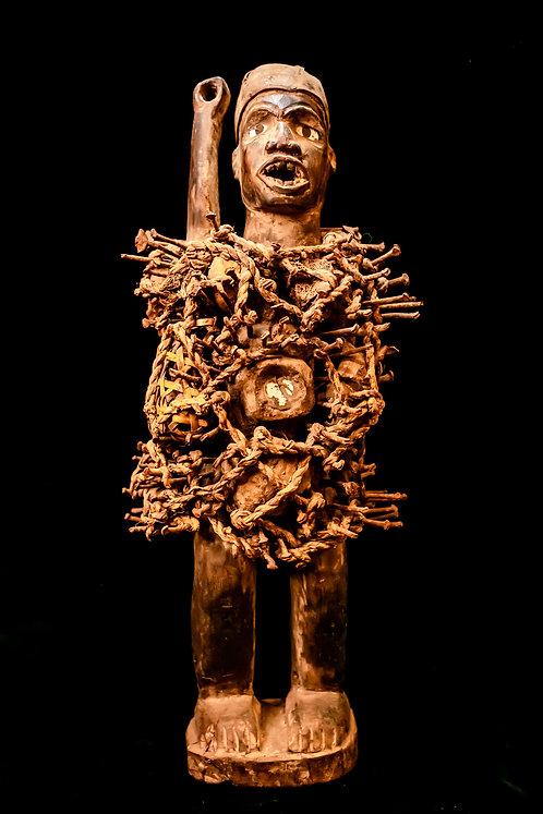 NKISI NKONDI - NAIL FETISH - DEMOCRATIC REPUBLIC OF CONGO