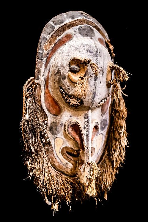 LARGE ANCESTOR MASK - SEPIK RIVER AREA - PAPUA NEW GUINEA
