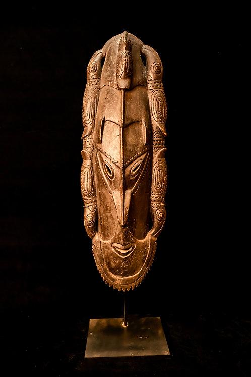 HORNBILL SPIRIT MASK - SEPIK REGION - PAPUA NEW GUINEA