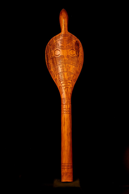 MARQUESAN CEREMONIAL DANCE PADDLE
